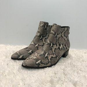 Halogen Snake Print Booties